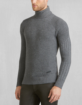 Belstaff Littlehurst Turtleneck Sweater ASPHALT