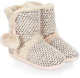 Monsoon Antoinette Bobble Wool Boot