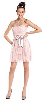 Teeze Me Teez Me Juniors' Glitter Party Dress