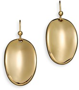 Roberto Coin 18K Yellow Gold Oval Drop Earrings