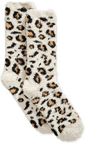 Charter Club Women's Leopard-Print Butter Socks, Created for Macy's