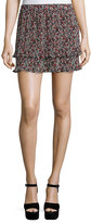 Derek Lam 10 Crosby Pleated Convertible Chiffon Cami/Skirt, Confetti