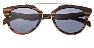 Earth Wood Ceira Sunglasses W/Polarized Lenses -
