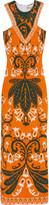 Emilio Pucci Jacquard-knit maxi dress