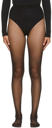 Wolford Black Individual 10 Tights
