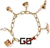Alison Lou Hasbro Go 14-karat Gold And Enamel Bracelet - one size