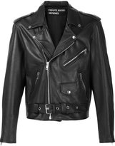 Enfants Riches Deprimes cropped biker jacket