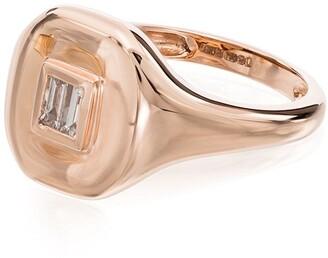 Shay 18kt Rose Gold Diamond Embellished Ring