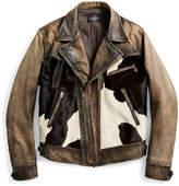 Ralph Lauren Hair-on-hide Leather Jacket
