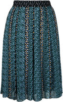 Proenza Schouler pleated printed skirt - women - Silk - 2