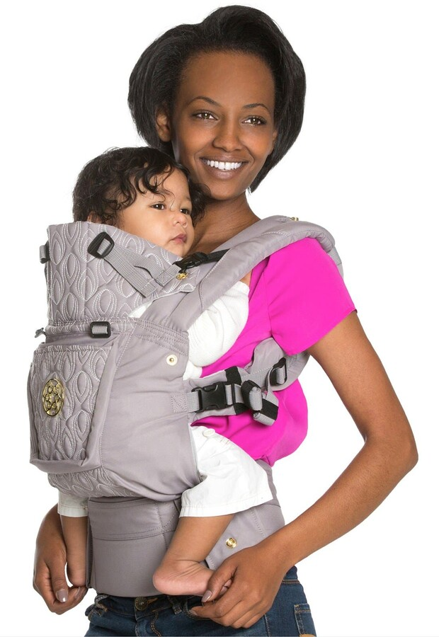 Complete Embossed Luxe Baby Carrier