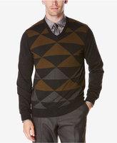 Perry Ellis Men's Intarsia Sweater