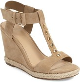 Marc Fisher 'Kelli' Studded Wedge Sandal (Women)