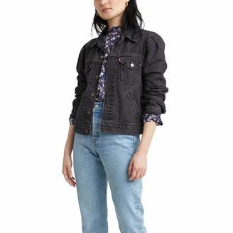 Levi's Women's Original Puff Sleeve Trucker Jackets