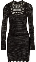 Isabel Marant Davy Crocheted Cotton Mini Dress