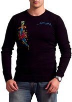 Ed Hardy Mens Snake Eagle Sweater