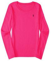 Ralph Lauren Girls 2-6x Long Sleeve Top