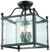 Filament Design Lawrence 3-Light Bronze Candelabra Ceiling Flushmount