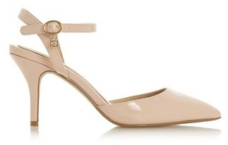 Dorothy Perkins Womens *Head Over Heels By Dune Nude 'Cindi' High Heeled Sandals, Nude
