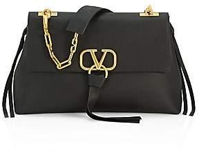 Valentino Women's Garavani VRing Leather Shoulder Bag