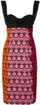 Capucci embroidered dress - women - Cotton/Polyester - 42