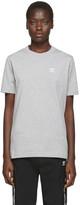 adidas Grey Trefoil Essentials T-Shirt