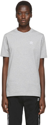 adidas Grey Trefoil Essentials T-Shirt