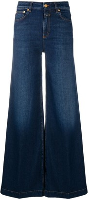 Closed High-Waisted Flared Jeans