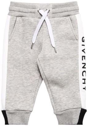 Givenchy Cotton Sweatpants W/ Rubberized Logo