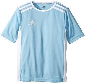 adidas Kids Kids Entrada 18 Jersey (Little Kids/Big Kids) (Solar Yellow/White) Boy's T Shirt