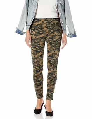 Jag Jeans Women's Marla Printed Pull on Ponte Legging