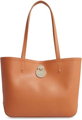 Longchamp Cavalcade Leather Tote