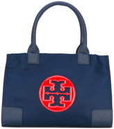 Tory Burch logo plaque tote - women - Polyester - One Size