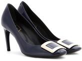 Roger Vivier Belle De Nuit patent leather pumps