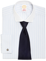 Brooks Brothers Golden Fleece® Madison Fit Alternating Stripe French Cuff Dress Shirt