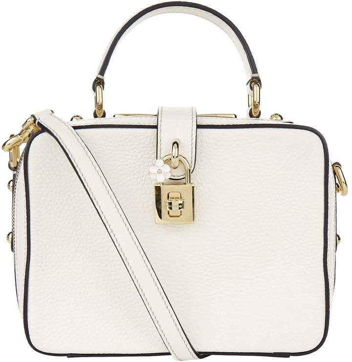 Dolce & Gabbana Dolce Soft Leather Shoulder Bag