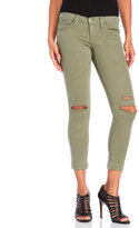 Flying Monkey Olive Ripped Knee Jeans