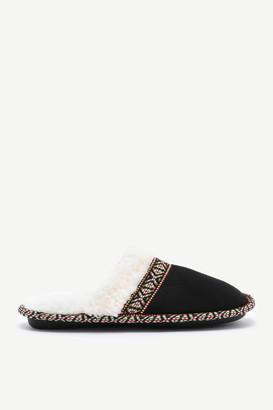 Ardene Aztec Slide Slippers
