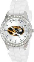 Game Time Women's COL-FRO-MO Frost College Series University of Missouri Collegiate 3-Hand Analog Watch