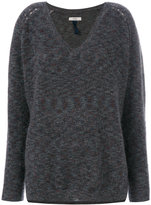 Humanoid V-neck sweater