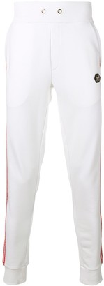 Philipp Plein Side Stripe Track Pants