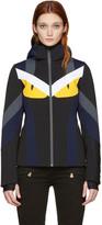 Fendi Multicolor Panelled Ski Jacket