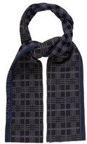 Louis Vuitton Mix Print Wool Scarf