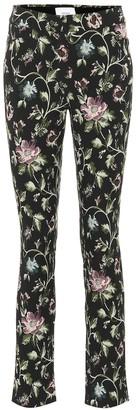 Erdem Sidney floral jacquard cotton pants