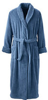 Lands' End Men's 14 ounce Full Length Turkish Terry Robe-White