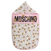 Moschino MoschinoPink Teddy Print Baby Nest