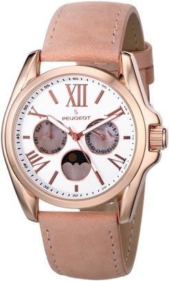 Peugeot Women's 3040RPK Analog Display Japanese Quartz Pink Watch