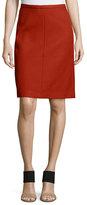 Theory Midi Camden Twill Skirt