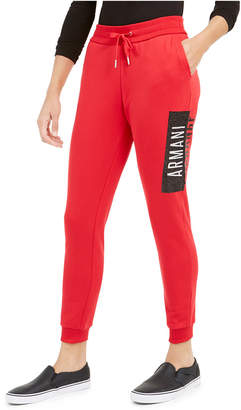 Armani Exchange Graphic Jogger Pants
