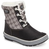 Keen Girl's Elsa Waterproof Faux Fur Lined Snow Boot